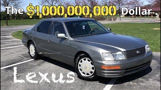Download Here's why the Lexus LS400 cost 1 BILLION to make   Review and What to LOOK for when buying one Video