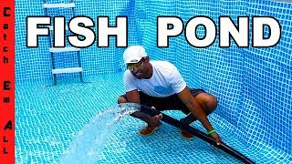 Download TIME for FISH in the POOL POND! Video