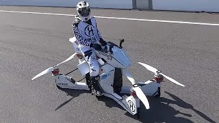 Download Scorpion 3 - World's First Hoverbike Video