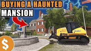Download FLIPPING A HAUNTED MANSION FOR A MILLION DOLLARS | REAL ESTATE INVESTING! | FARMING SIMULATOR 2017 Video
