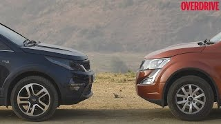 Download Tata Hexa vs Mahindra XUV500 - Comparative Review Video