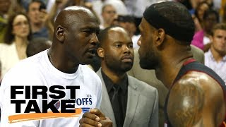 Download LeBron James replacing Michael Jordan as inspiration to young players? | First Take | ESPN Video