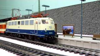 Download Roco E 110 408 with sound & moving pantographs (HD Remake) Video