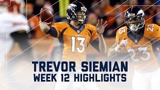 Download Trevor Siemian Throws for 368 & 3 Scores | Chiefs vs. Broncos | NFL Week 12 Player Highlights Video