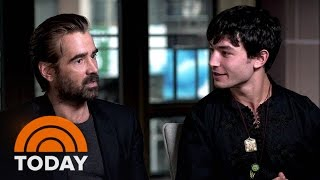 Download Colin Farrell On 'Fantastic Beasts': It Was Fun To Look 'Ridiculous' Waving Wands   TODAY Video