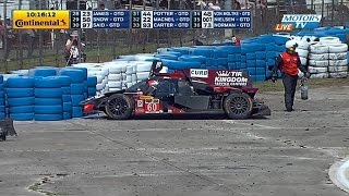 Download Oswaldo Negri Big Crash 2015 USCC 12 Hours of Sebring Video