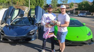 Download CASH RACE - Mclaren 720s vs Supercharged Lamborghini Huracan! Video