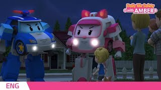 Download 🚨 Daily life Safety with AMBER | EP 05| Robocar POLI | Kids animation Video