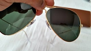 Download How to Spot Fake Rayban Aviator Sunglasses (highest grade fake RB 3025) Video