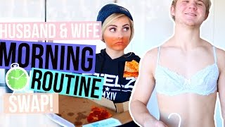 Download Husband & Wife Morning Routine Swap! | Aspyn Ovard Video