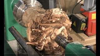 Download 241 Wood-turning the root of all evil bowls !!! Video