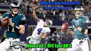 Download Eagles Have The Top Two QB's In The NFC East!!! WHERE'S DAK PRESCOTT PT 1! (Eagles Time Stamp 5:30) Video