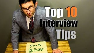 Download Top 10 Interview Tips To CRUSH Your Interview Video