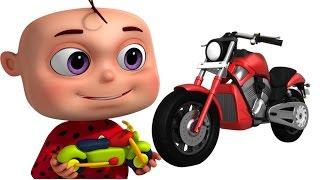 Download Five Little Babies Making Toy Vehicles   Nursery Rhymes & Kids Songs   Zool Babies Video