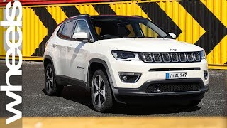 Download 2018 Jeep Compass Limited review   Wheels Australia Video