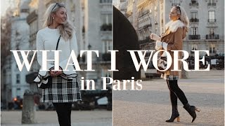 Download WHAT I WORE IN PARIS | Outfit Diary | Fashion Mumblr Video