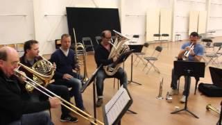 Download Achter de schermen: repetitie met koperblazers Residentie Orkest Video
