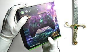 Download FANCIEST XBOX CONTROLLER? (Sold Out) Unboxing Sea of Thieves + Limited Edition Xbox One Gamepad Video
