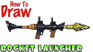 Download How to Draw the Rocket Launcher | Fortnite Video
