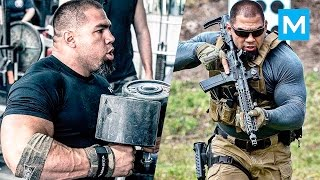 Download Special Forces Strength Training with SWAT Tony Sentmanat | Muscle Madness Video