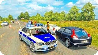 Download Skoda Police Driving ETS2 (Euro Truck Simulator 2) Video