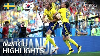 Download Sweden v Korea Republic - 2018 FIFA World Cup Russia™ - Match 12 Video