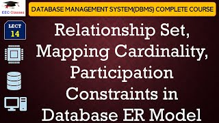 Download Relationship Set, Mapping Cardinality, Participation Constraints in DBMS Video