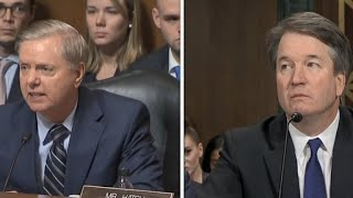 Download Sen. Lindsey Graham tells Kavanaugh: ″This is the most unethical sham″ Video