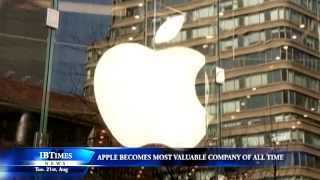 Download Apple becomes most valuable company of all time Video