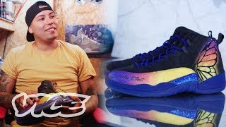 Download Meet The NBA's Favorite Custom Shoe Artist Video