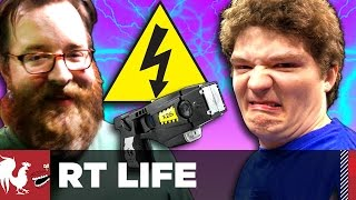 Download Michael Gets Tased [Warning: Graphic] - RT Life Video