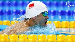 Download Swimming   Men's 50m Freestyle S3 heat 2   Rio 2016 Paralympic Games Video