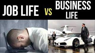 Download JOB LIFE vs BUSINESS LIFE   Digital Entrepreneur Video