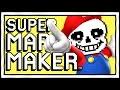 Download UNDERTALE MARIO MAKER LEVELS? Super Mario Maker Gameplay & Funny Moments Video