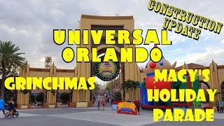 Download Grinch/Grinchmas, Macy's Parade, Fallon & Furious Universal Orlando Resort Tours 12.7.16 Video