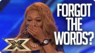Download SHE FORGETS THE WORDS AND WALKS OFF! | Unforgettable Auditions | The X Factor UK Video