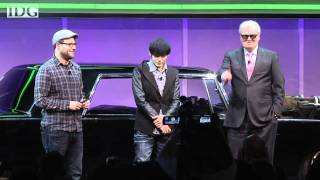 Download CES 2011: Seth Rogen, Jay Chou and Sony CEO Howard Stringer Video