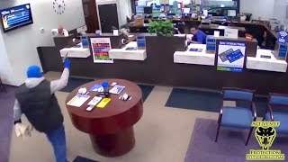 Download Guard Beats Bank Robber to the Shot | Active Self Protection Video