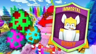 Download EASTER EGG HUNT in MINECRAFT! | Minecraft Skybounds Skyblock Bunny! Video