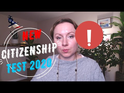 New Citizenship Test 2020 Questions, Changes and Timing NYC Immigration Lawyer, Citizenship Attorney