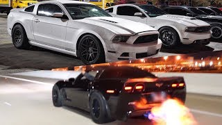 Download Turbo Mustang DOMINATES on the STREET! + 899hp ZR1 STREET RACES 850hp Hellcat, Nitrous Z06 & MORE! Video