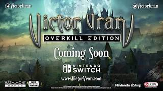 Download Victor Vran: Overkill Edition Nintendo Switch Announcement trailer PEGI Video