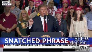 Download Trump 2020: Stolen Slogans Video