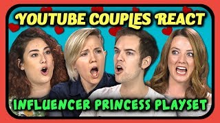 Download YOUTUBERS REACT TO YOUTUBER PRINCESS PLAYSET TOY?! Video