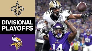 Download Saints vs. Vikings | NFL Divisional Round Game Highlights Video