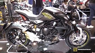 Download 2016 MV Agusta Brutale 800 Dragster - Walkaround - 2015 EICMA Milan Video