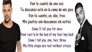 Download Ricky Martin - Vente Pa' Ca Lyrics English and Spanish - ft Maluma - Translation & Meaning Video