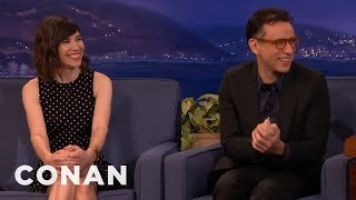 Download Fred Armisen & Carrie Brownstein Work Out Some Issues - CONAN on TBS Video