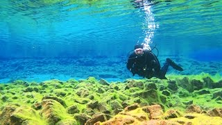 Download Diving Between the Continents (Silfra, Iceland) - Smarter Every Day 161 Video