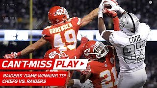Download A Series of Unbelievable Plays Cap Off Raiders' Game-Winning TD Drive! | Can't-Miss Play | NFL Wk 7 Video